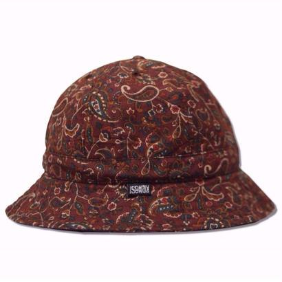 Skate Bell Hat    <Brown Paisley>