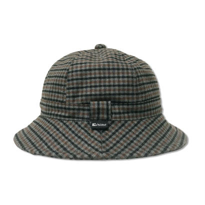 Skate Bell Hat    <Charcoal Plaid>