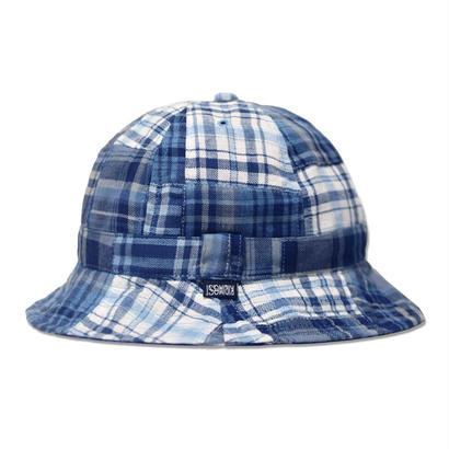 Skate Bell Hat    <Plaid Patchwork>
