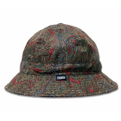 Skate Bell Hat    <Khaki Paisley>