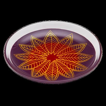 葉輪(hawa)プレート M 紫朱