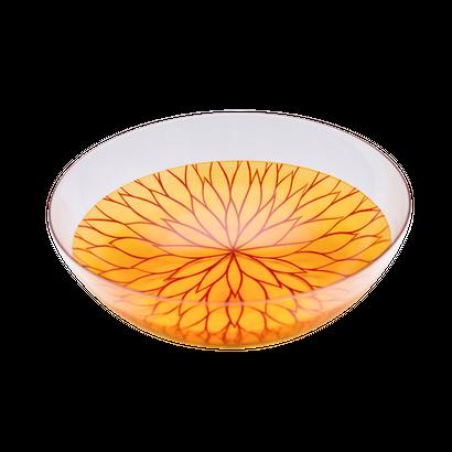 千重菊(senjugiku)薄作りボウル M 朱