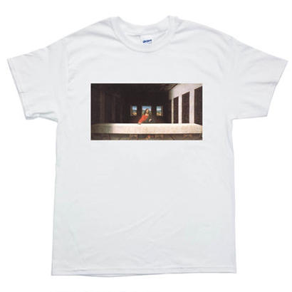 Waiting For Last Supper Tee / White