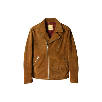 SD Cow Suede Double Riders Jacket