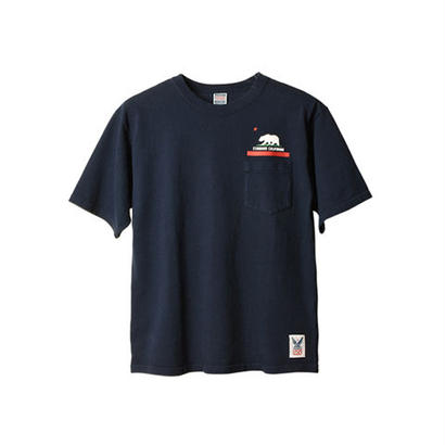 SD Made in USA Heavyweight Pocket T with Logo