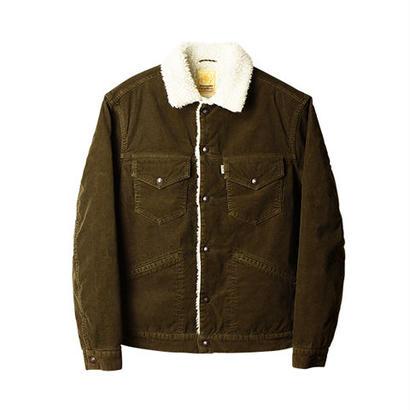 SD Corduroy Boa Jacket S997 Vintage Wash