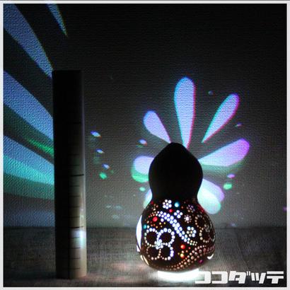 ひょうたんライト016【和花/ホワイト】
