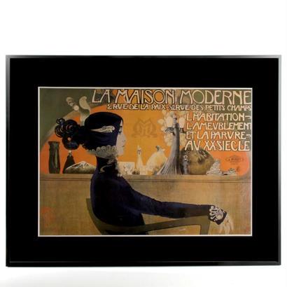 BLUE LADY(La Maison Moderne) ポスター