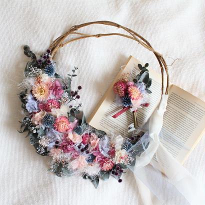 wreath bouquet  ブーケ・ブートニア