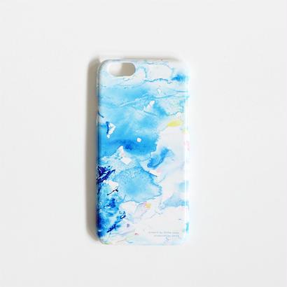 植田志保  iPhone 6/6sケース / Blue