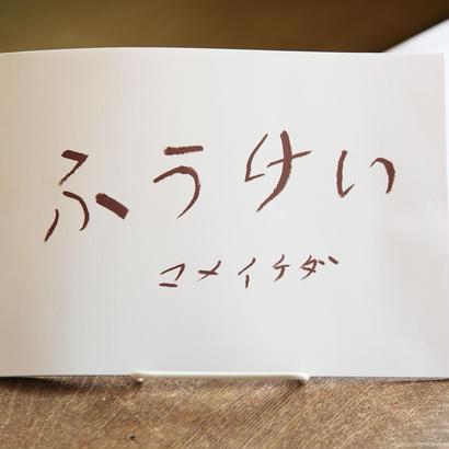 マメイケダ/風景