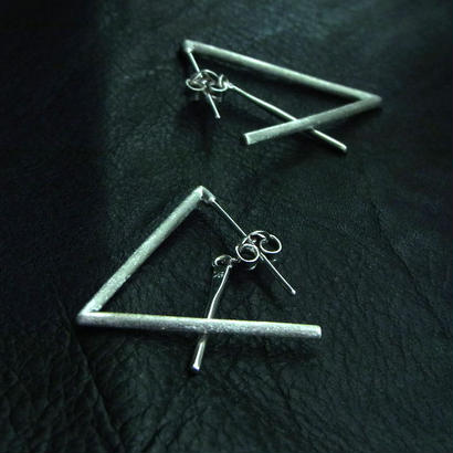 Triangle Earrings B