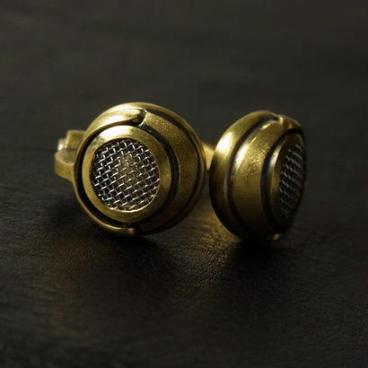 Headphone Ring - Brass