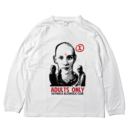 Xaymaca alcoholic club / ADULTS ONLY CULT Long sleeve
