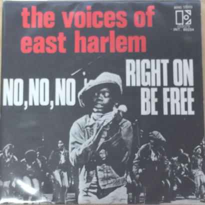 ★7inch★ VOICES OF EAST HARLEM / RIGHT ON BE FREE