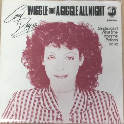 ★7inch★ CORY DAYE / SINGLE AGAIN / WIGGLE & A GIGGLE ALL NIGHT