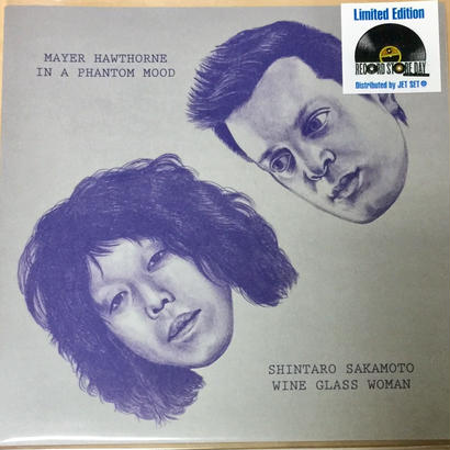★7inch★ MAYER HAWTHORNE / SHINTARO SAKAMOTO / IN A PHANTOM MOOD / WINE GLASS WOMAN