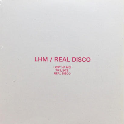 ★MIXCD★ LHM / REAL DISCO