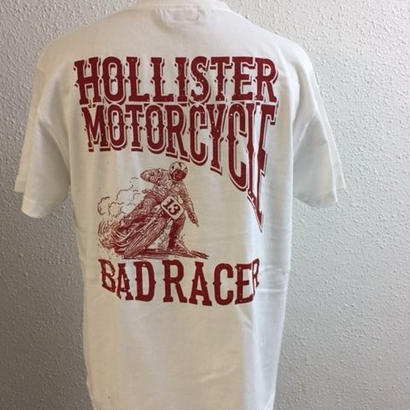 HMC BAD RACER-T WHT/RED