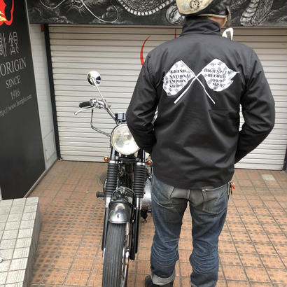 KRAFTY GRAND NATIONAL RECORD JKT BLK/WHT
