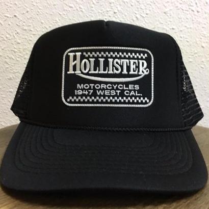HMC CHECKER MESH CAP BLK/BLK