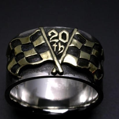 KraftyTokyo 20th Anniversary Silver Ring