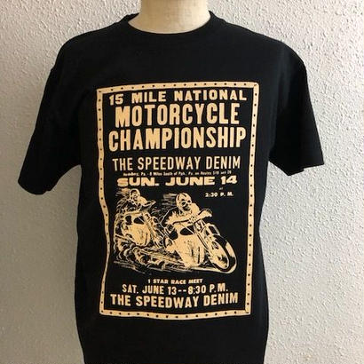 THE SPEEDEWAY CHAMPIONSHIP-T BLK