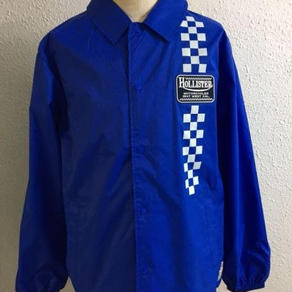 HMC 47z CHECKER COACH JKT BLUE