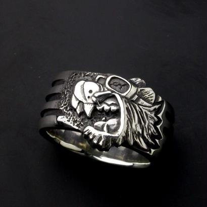 KraftyTiger 4Bar Silver Ring