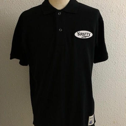 Krafty Cotton Logo Polo BLK