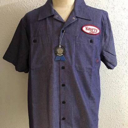 BLUCO X KRAFTY WORKSHIRTS BLUE/RED