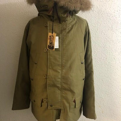 2018 UNCROWD N-3B COAT KHK