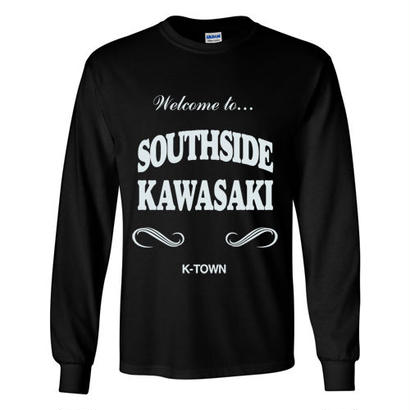 """SOUTHSIDE KAWASAKI"" L/S TEE BLACK"