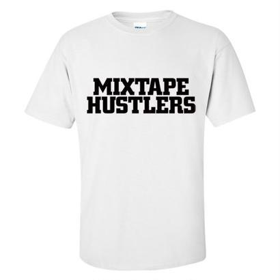 """MIXTAPE HUSTLERS"" S/S TEE WHITE"