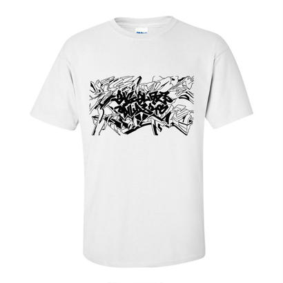 BIG BLAZE WILDERS 15th Anniversary OFFICIAL T-SHIRT WHITE