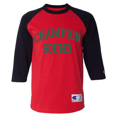 """CHAMPION SOUND"" RAGLAN BASEBALL TEE GUCCI"