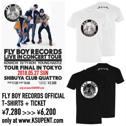 【前売りチケット+Tシャツ】【特典付き】2018.05.27(日)FLY BOY RECORDS LIVE IN CONCERT TOUR ~TOUR FINAL IN TOKYO~
