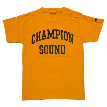 """CHAMPION SOUND"" S/S TEE GOLD"