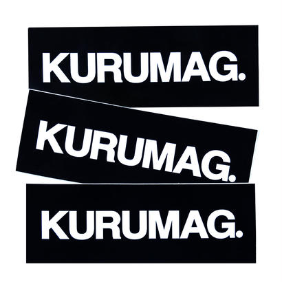 KURUMAG.  STICKER