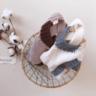 knit coloring suit(pink mのみ即納)