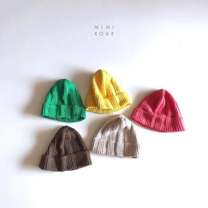 linen beanie cap