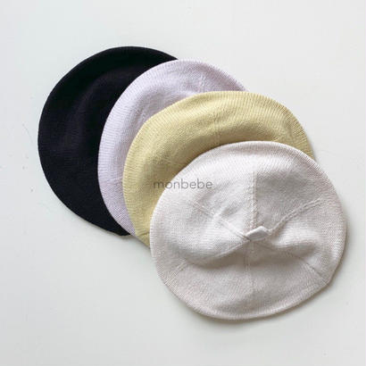 pastel beret