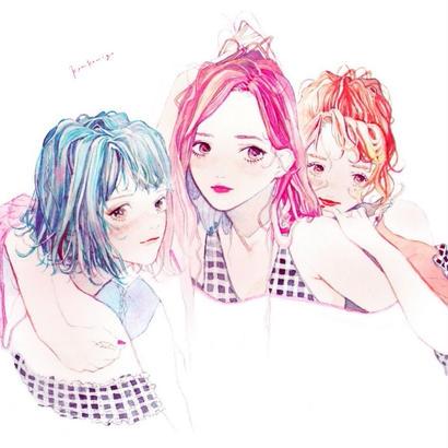 三人の女の子