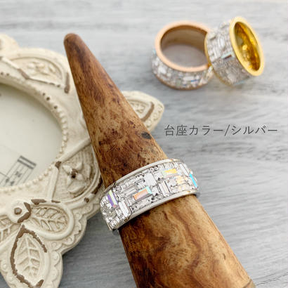 Bijin Ring[シルバー台座]