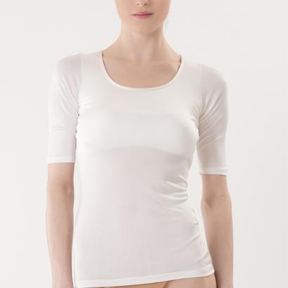 シルク100%胸パット付き半袖 (la sakura)2256