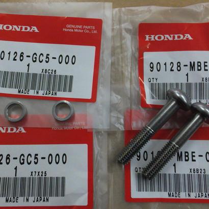 ♪CB223/MC40/純正シート固定用のボルト/ネジ/カラー/1台分2個セット/純正品/新品☆