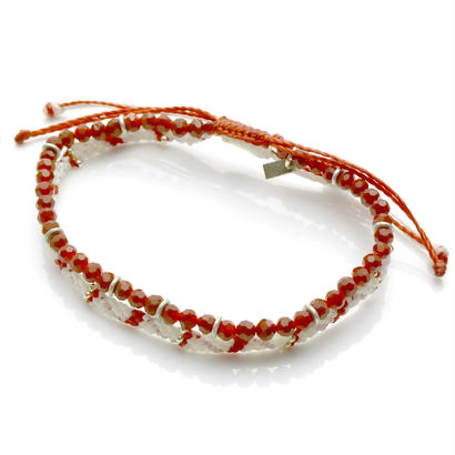 Wakami - 2set Anklet / red