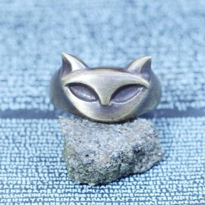TIME   Cat Ring(BRASS)