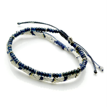 Wakami - 2set Anklet / blue