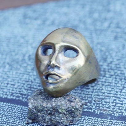 TIME    Mask Ring(BRASS)